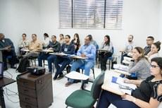 Participantes da capacitação realizada em parceria com o Programa Enap em Rede.