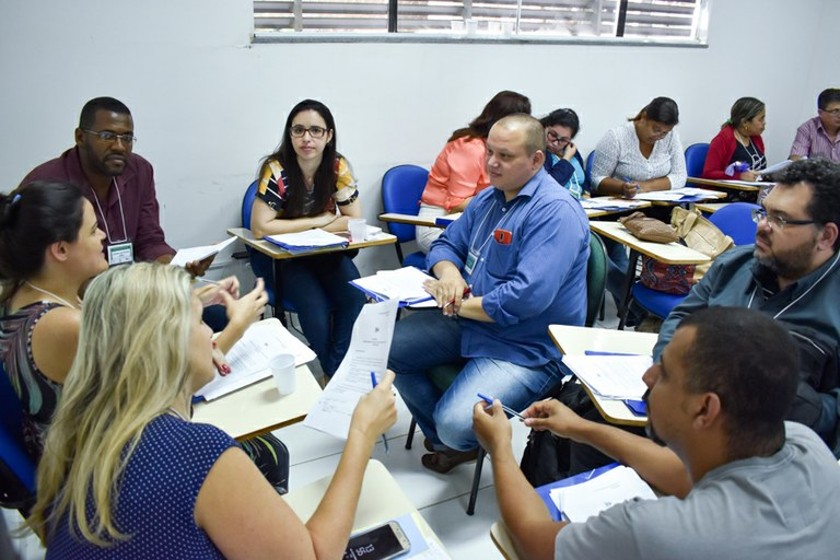 Servidores públicos participam de curso sobre gestão por competências