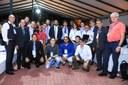 Participantes da Reditec na premiação da Tenda Tecnológica
