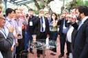 Participantes experimentam café de projeto do Ifes, finalista da Tenda Tecnológica