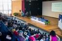 Palestrante do dia: Ildeu de Castro Moreira, presidente da Sociedade Brasileira para o Progresso da Ciência (SBPC).