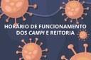 Unidades do IFF terão horário de funcionamento diferenciado durante período de pandemia do Coronavírus