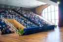 Público presente no auditório do Centro de Convenções da Uenf.